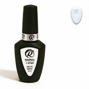 1-Step Gel Polish Roby #113 Arctic White 8 ml
