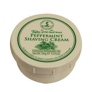 Crema da Barba Peppermint Taylor ciotola 150 ml.