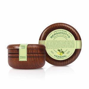 Mondial Crema da Barba Ciotola Legno Bergamotto Neroli 150 ml