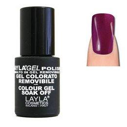 LaylaGel Polish Gel Colorato nr 131 Violet Divine 10 ml