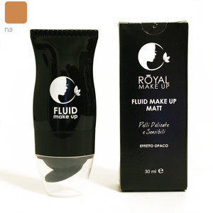Fondotinta Fluid Make up Matt nr. 3 30 ml