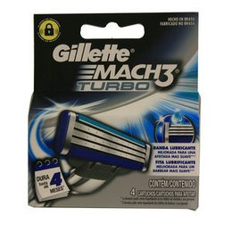 Gillette Ricambi Mach3 Turbo