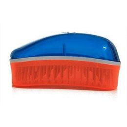 Spazzola Dessata Original Mini Trasparente Azzurro Arancio