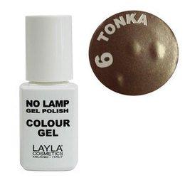 No Lamp Colour Gel nr 6 Tonka Layla 10 ml