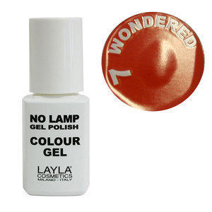 No Lamp Colour Gel nr 7 Wondered Layla 10 ml