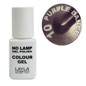 No Lamp Colour Gel nr 10 Purple Dance Layla 10 ml