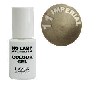 No Lamp Colour Gel nr 11 Imperial Layla 10 ml