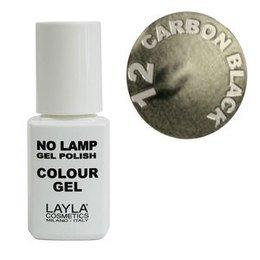 No Lamp Colour Gel nr 12 Carbon Black Layla 10 ml