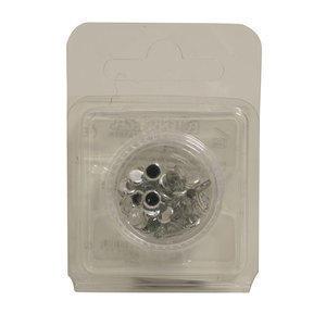 Glitzer steine Kristall XL 2,5 g ca. 100pz