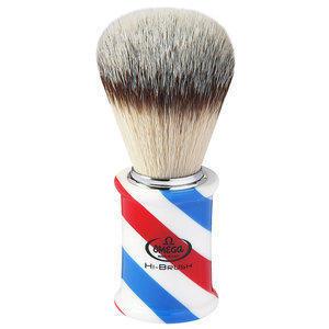 Pennello Barba Sintetico Manico Barber Omega 46735