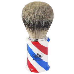 Pennello Barba Tasso Pure Badger Manico Barber Omega 6735