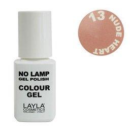 No Lamp Colour Gel nr 13 Nude Heart Layla 10 ml