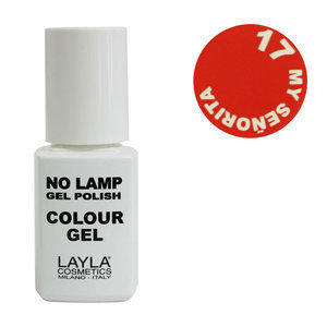 No Lamp Colour Gel nr 17 My Senorita Layla 10 ml