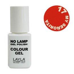 No Lamp Colour Gel nr 17 My Senorita Layla 10 ml