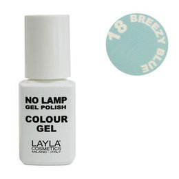No Lamp Colour Gel nr 18 Breezy Blue Layla 10 ml
