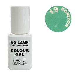 No Lamp Colour Gel nr 19 Horizon Layla 10 ml