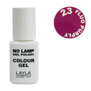 No Lamp Colour Gel nr 23 Fluo Purply Layla 10 ml
