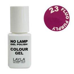 No Lamp Colour Gel nr 23 Fluo Purply Layla 10 ml