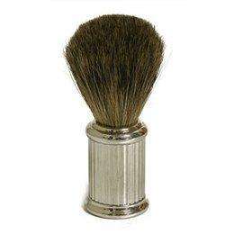Fatip Pennello da Barba in Tasso Manico Cromato
