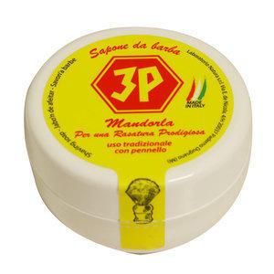 Sapone da Barba 3P alla Mandorla 150 ml.