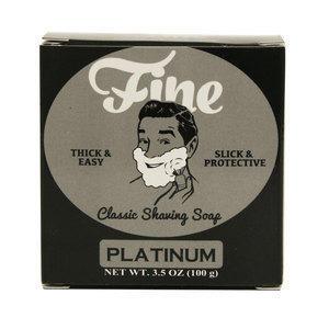 Fine Sapone da barba Platinum 100 gr