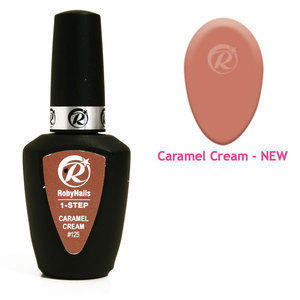1-Step Gel Polish Roby #125 Caramel Cream 8 ml