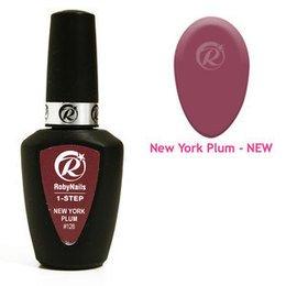 Smalto Semipermanente 1-Step Gel Polish #128 N.Y. Plum Roby Nails 8 ml