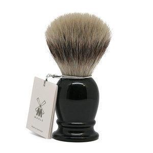 Muhle Pennello da Barba Sintetico Manico Nero 33K256