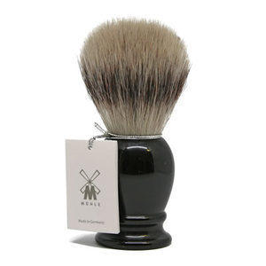 Muhle Pennello da Barba Sintetico Manico Nero 31K256