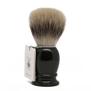 Muhle Pennello da Barba Sintetico Manico Nero 39K256