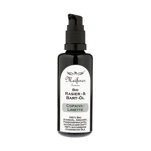 Shaving & Beard Oil Bio Meissner Copaiva Limette 50 ml