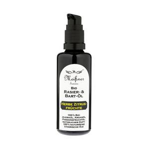 Shaving & Beard Oil Bio Meissner Herbe Zitrus Fruchte 50 ml