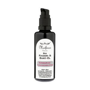 Shaving & Beard Oil Bio Meissner Sussgras Canangabluten 50 ml