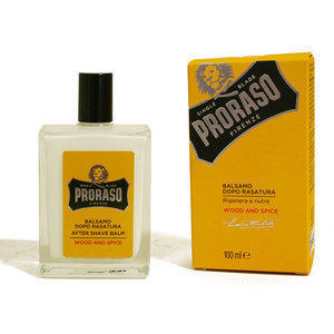 Balsamo Dopo Barba Wood and Spice Proraso flacone 100 ml.