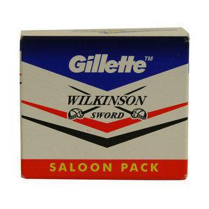 Lamette da Barba Gillette Wilkinson Saloon stecca 5 pc. 50 Pz