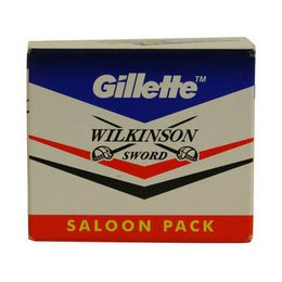 Lamette da Barba Gillette Wilkinson Saloon stecca 5 pc. 50 Pz
