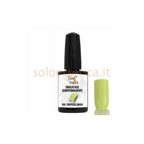 TN Smalto Gel Semipermanente nr. 109 Tropical Green 14 ml.