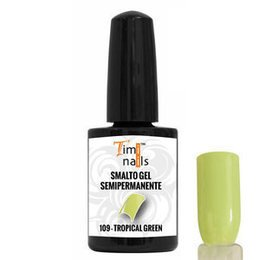 TN Smalto Gel Semipermanente nr. 109 Tropical Green 14 ml.