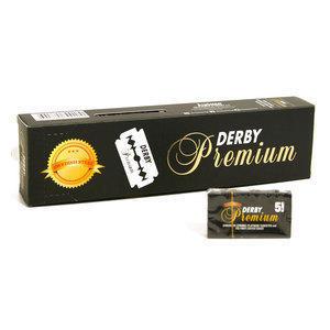Stecca Lamette da barba Derby Black Premium 100 Lame