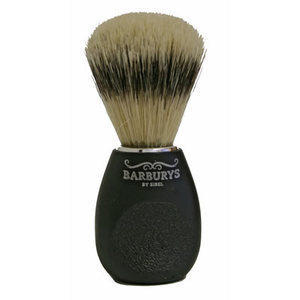 Barburys Pennello da Barba in Setola e Manico con Grip