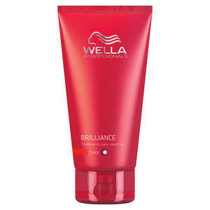 Brilliance Wella Care Balsamo idratante capeli Colorati e Grossi 200 ml