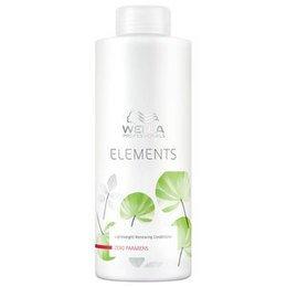 Balsamo rigenerante Elements Wella 1000 ml