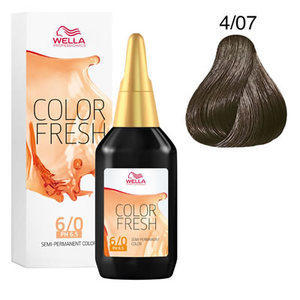 Colorazione Diretta Color Fresh acid 4/07 Wella 75 ml