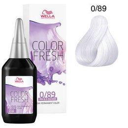 Color Fresh acid 0/89 Wella 75 ml New