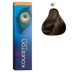 Koleston Perfect 4/ Pure Natural 60 ml Wella castano medio puro