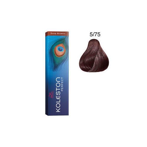 Koleston Perfect 5/75 Deep Browns 60 ml Wella castano chiaro sabbia mogano