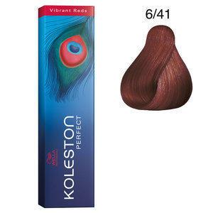 Koleston Perfect 6/41 Vibrant Red 60 ml Wella biondo scuro rame cenere