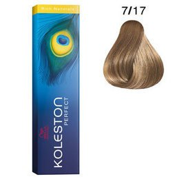 Koleston Perfect 7/17 Rich Naturals 60 ml Wella biondo medio cenere sabbia