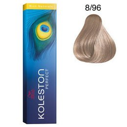 Koleston Perfect 8/96 Rich Naturals 60 ml Wella biondo chiaro cenere violetto