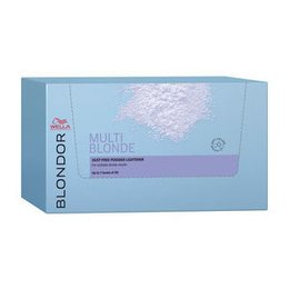 Blondor Multi-Blonde Powder Sachet Box Wella 12 bustine da 30 gr